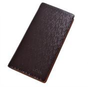 dandeli Leather Men's business hand bag Wallet,Purse, 19 Pockets Total (12 Credit Card Slots,6 large slot pockets,1 ID Slot) WA@KTWDA06LS2