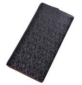 dandeli Leather Men's business hand bag Wallet,Purse, 19 Pockets Total (12 Credit Card Slots,6 large slot pockets,1 ID Slot) WA@KTWDA06LB2