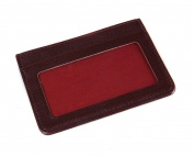 SAGEBROWN Flat Credit Card Wallet With ID
