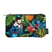 Lilo & Stitch Wallet Hawaii Disney Loungefly 21x10,5x2,5cm black