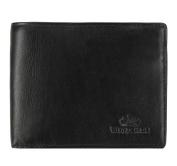 Wittchen X-1-040-X Wallet / 2 x 12.5 x 10 cm Black / Brown / Natural Leather, Handmade, Schwarz (Tenero Kollektion) (black) - 02-1-040-1