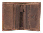 Visconti Hunter Distressed Oiled Leather Mens Wallet ARROW # 705