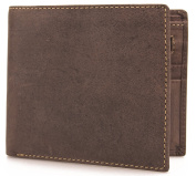 Visconti Hunter Distressed Oiled Leather Mens Wallet / Notecase SHIELD # 707