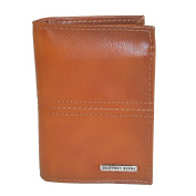 Geoffrey Beene Men's Leather RFID Protected L-Fold Wallet