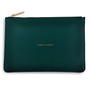 Katie Loxton Perfect Pouch Clutch Bag Teal Green - FINDERS KEEPERS