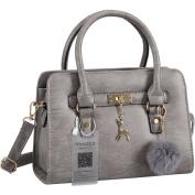 Vincico Womens Fashion PU Leather Shoulder Bags Top-Handle Handbag Tote Satchel Bag Purse Crossbody Bag