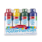 Melissa & Doug Washable Poster Paint Set