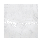 modernEID Acrylic Happy Ramadan Banner, 1 Ct
