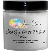 Contact Crafts KOliver Paint ChalkyBase 110ml Wht