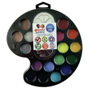 RUBY RED PAINT, INC. 18 Colour Artist's Palette