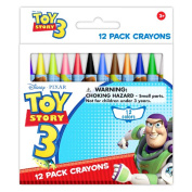 Toy Story 12 pack wax crayons