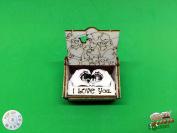I love You Boxsilhouette Card