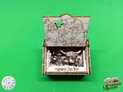 Highland Coo Boxsilhouette Card