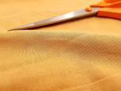 Beige Gold Plain 100% Cotton Soft Feel Fabric For Home Craft 1M Width - SALE PRICE BY THE METRE
