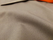 Silver Grey Fire Resistant Cotton Soft Feel FR Fabric For Home Craft & Upholstery SALE PRICE BY THE METRE