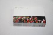 Christmas Florist Message Cards - Merry Christmas x 50