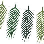 Tropical Leaf Frond Garland 2m Aloha Birthday Party Bunting