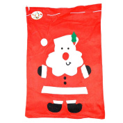 Large Father Christmas Santa Sack Red Stocking Bag Gift Presents Xmas Toy Christmas Accessories