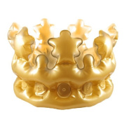 Inflatable Gold Crown 30cm