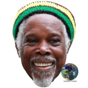 Billy Ocean Celebrity Mask, Card Face and Fancy Dress Mask