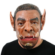 World of Warcraft WOW Ogrim Ogre Mask Mask Head made of very high quality latex material with openings to eyes Halloween Carnival Costume fairing for adults Men and Women Women Men Creepy Creep Zombie Monster Demon Horror Party Party