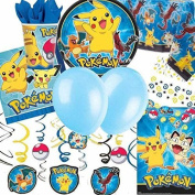 Pokemon Ultimate Party Supplies Kit for 8