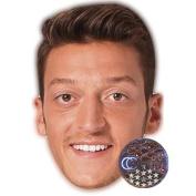 Mesut Özil Celebrity Mask, Card Face and Fancy Dress Mask