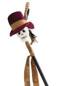 Smiffy's 47099 Voodoo Cane, Black, One Size