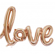 Malloom 2017 New Love Letters Foil Balloon,For Birthday Wedding Party Anniversary Decor
