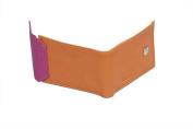 Butterflies Orange PU Leather Wallet Combo For Women