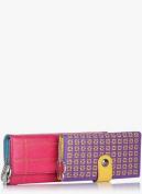 Butterflies Multicolor PU Leather Wallet Combo For Women
