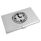 'Wall Clock' Business Card Holder / Credit Card Wallet