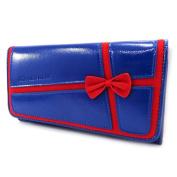 Wallet + chequebook holder 'Agatha Ruiz De La Prada' blue.