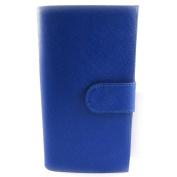 Leather mate 'Frandi' royal blue.