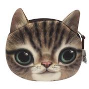 Abuyall Small Cute Cartoon Coin Zip Purse Hasp Key Wallet Bag p12