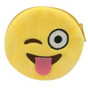Abuyall Small Cute Cartoon Coin Zip Purse Hasp Key Wallet Bag p19