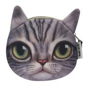 Abuyall Small Cute Cartoon Coin Zip Purse Hasp Key Wallet Bag p14
