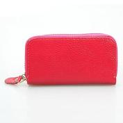 timeracing Fashion Unsex Men Women Faux Leather Zipper Purse Car Keys Wallet Card Holder