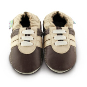 Snuggle Feet Soft Leather Baby Shoes | Toddler Shoes | 0-6 months, 6-12 months, 12-18 months, 18-24 months, 2-3 years