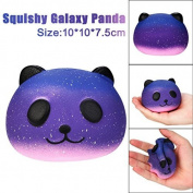 JACKY-Store Starry Cute Panda Baby Cream Scented Slow Rising Squeeze Large Kawaii Squishy Charms, Hand Pillow Toy, Squeeze Toys,Toy hop props Kids Toy 10cm