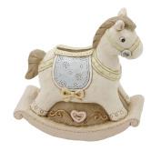 Juliana Baby Resin Money Box - Rocking Horse