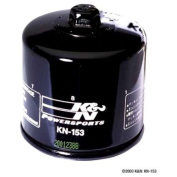 K & N KN153 Black Wrench-Off Performance Gold Oil Filter for Ducati 79-16