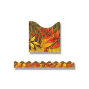 Trend Enterprises Leaves of Autumn Trimmers Scalloped Classroom Border