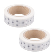 Gift Wrapping Washi Paper Compass Print DIY Craft Decor Tape 10M Length 2pcs