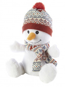 Warmies Cosy Plush Snowman - Microwavable / Heatable Plush Toy