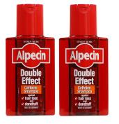 Alpecin Double Effect Shampoo 200 ml - Pack of 2