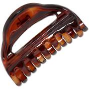 Ebuni | Coda 8cm French Hair Claw Clip (Tortoiseshell) | Made in France