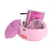 Forever Speed Cosmetic Paraffin Bath with 2X450G Paraffin 150 W Paraffin Wax and Accessories Paraffin Starter Kit Pink