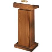 Orator Ht Ajst Floor Medium Oak Lectern