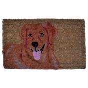 Imports Decor Golden Retriever Doormat
